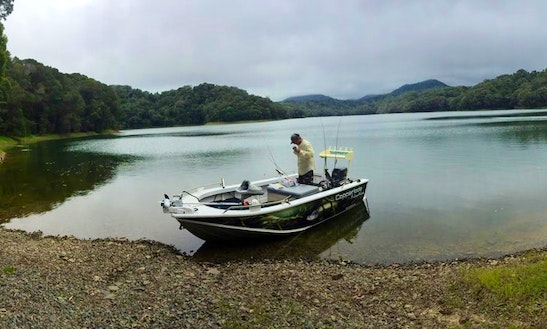 Guided Fishing Boat And Lake Tour In Yorkeys Knob