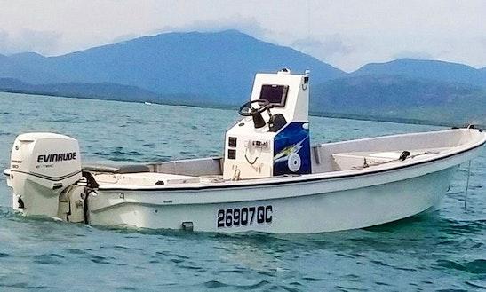 Enjoy Fishing In Cairns City, Australia On 20' Jon Boat
