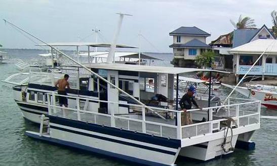 Charter Miyuki Emily Trimaran In Lapu-lapu City, Philippines