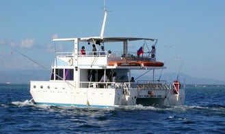 Enjoy Fishing in Lapu-Lapu City, Philippines on Power Catamaran