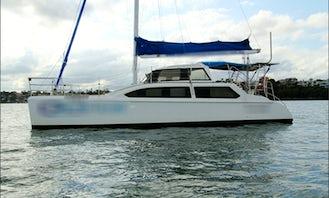 Catalyst Sailing Catamaran Charter in Sydney Harbour