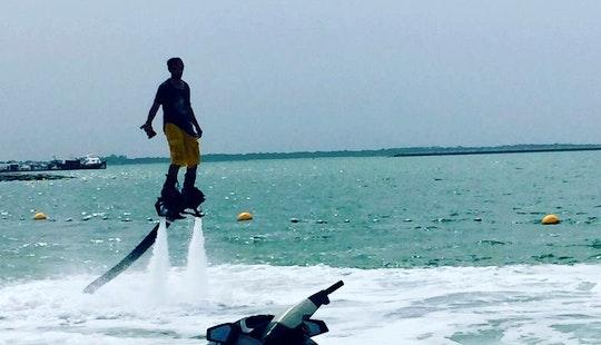 Enjoy Flyboarding In Abu Dhabi, United Arab Emirates