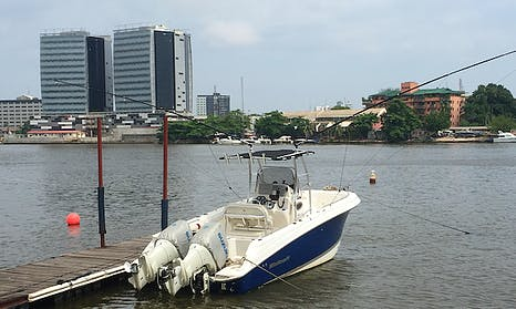 Enjoy Fishing in Lagos, Nigeria on 25' Wellcraft 252 Center Console