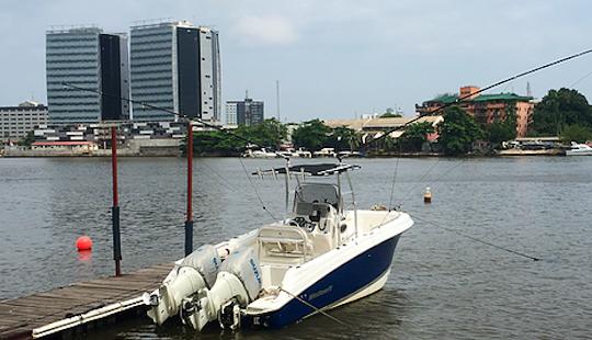Enjoy Fishing In Lagos, Nigeria On 25' Wellcraft 252 Center Console