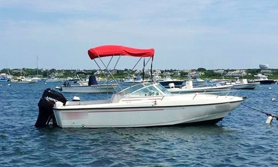Enjoy The 20ft Boston Whaler Dauntless Center Console In Nantucket