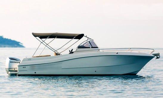 Motor Yacht Atlantic 750 Wa 250 Hp In Dubrovnik