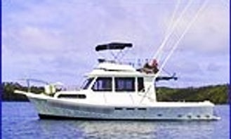 "34' Sport Fisherman ""MV Hakula"" Fishing Trips in Toula Village, Tonga"