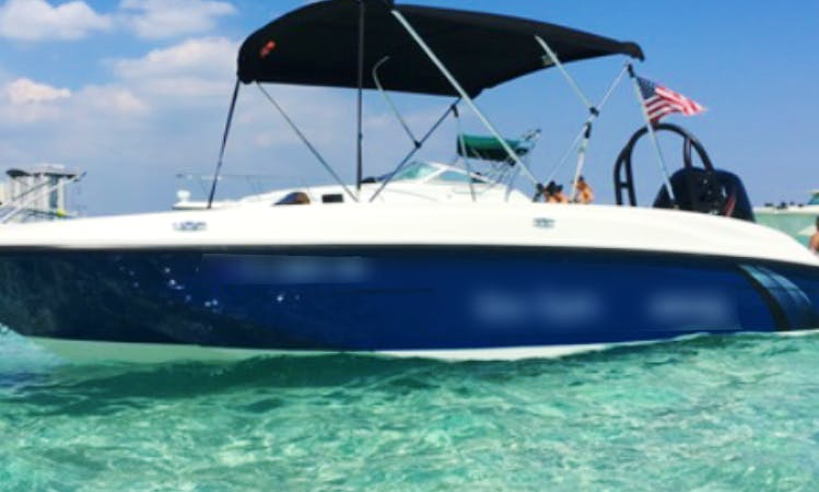 18' Bayliner Element - The Haulover Sand Bar Party Boat