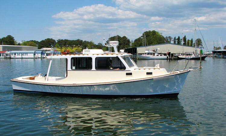 "32' ""Sable"" Passenger Boat In Deltaville, Virginia United States"