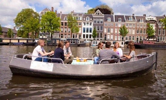 Rent A Boat In Amsterdam, Netherlands
