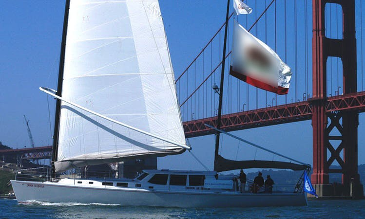 65ft WylieCat Sailboat Charter in San Francisco or Richmond