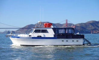 Rent the 38' Delta Fishing Boat in San Francisco (Captained Only)