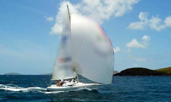 30ft Sailing Charter J/92 In Fajardo, Puerto Rico
