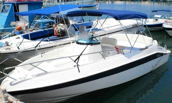 Charter 22 Ft Marinello Speedboat In Cyprus, Poli Crysochous