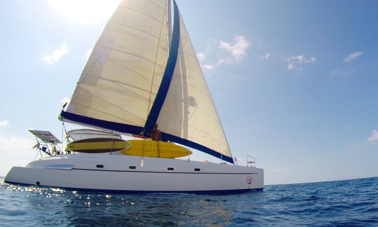 Cruising Catamaran Charter on 46' Bahia 46