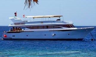 Charter 79' Power Mega Yacht in Aqaba, Jordan