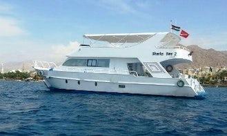 Charter 59' Sharks Bay 2 Power Mega Yacht in Aqaba, Jordan