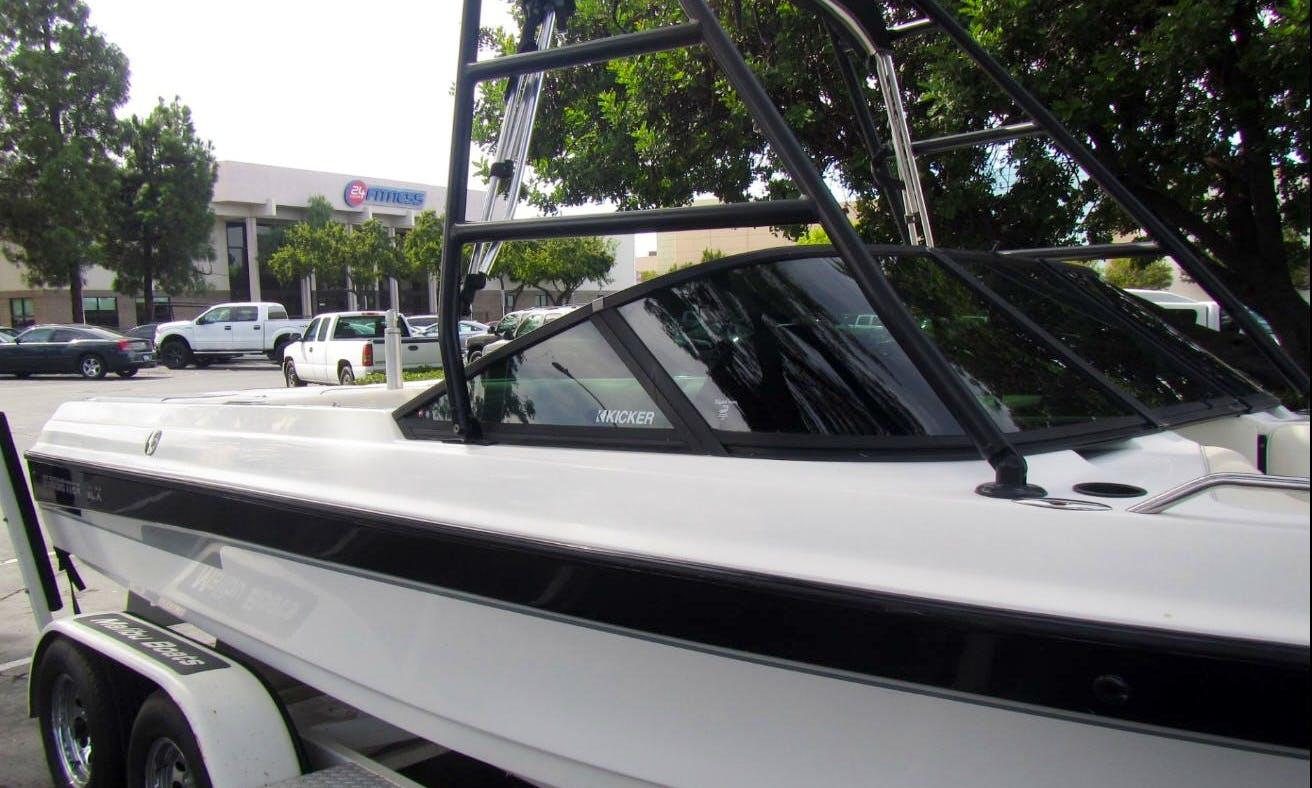 Wakeboard & Watersports - Inboard Malibu Boat in the Delta of Bethel Island, California