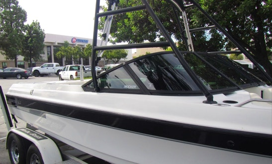 Wakeboard & Watersports - Inboard Malibu Boat In The Delta