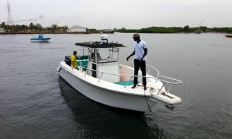 Enjoy Fishing in Banjul, the Gambia on Center Console