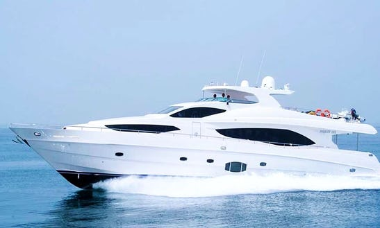 Charter 101' Majesty Power Mega Yacht In Dubai, United Arab Emirates