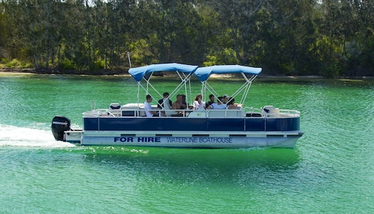Hire Tahoe Pontoon In Forster, New South Wales