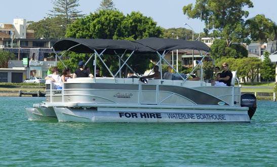 Hire Sweetwater Pontoon In Forster, New South Wales