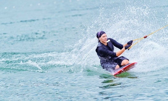 Enjoy Kneeboarding In Ras Al-khaimah, United Arab Emirates