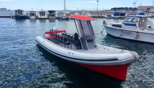 Rent The 27' Colnago Rigid Inflatable Boat In Split, Croatia