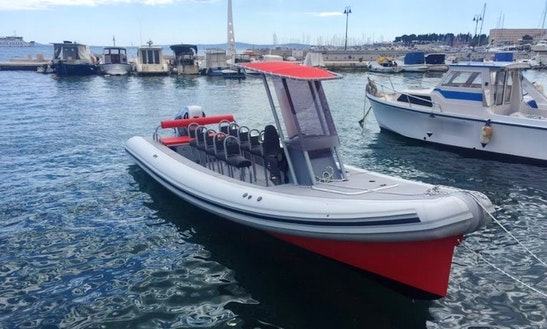 Rent The 27' Colnago Rigid Inflatable Boat In Split, Croatia