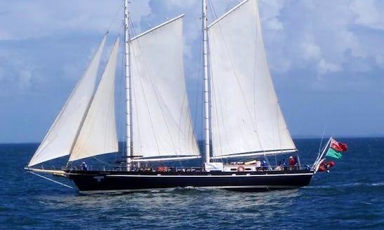 Enjoy Bribie Island Cruises In Hamilton, Queensland On South Passage Schooner