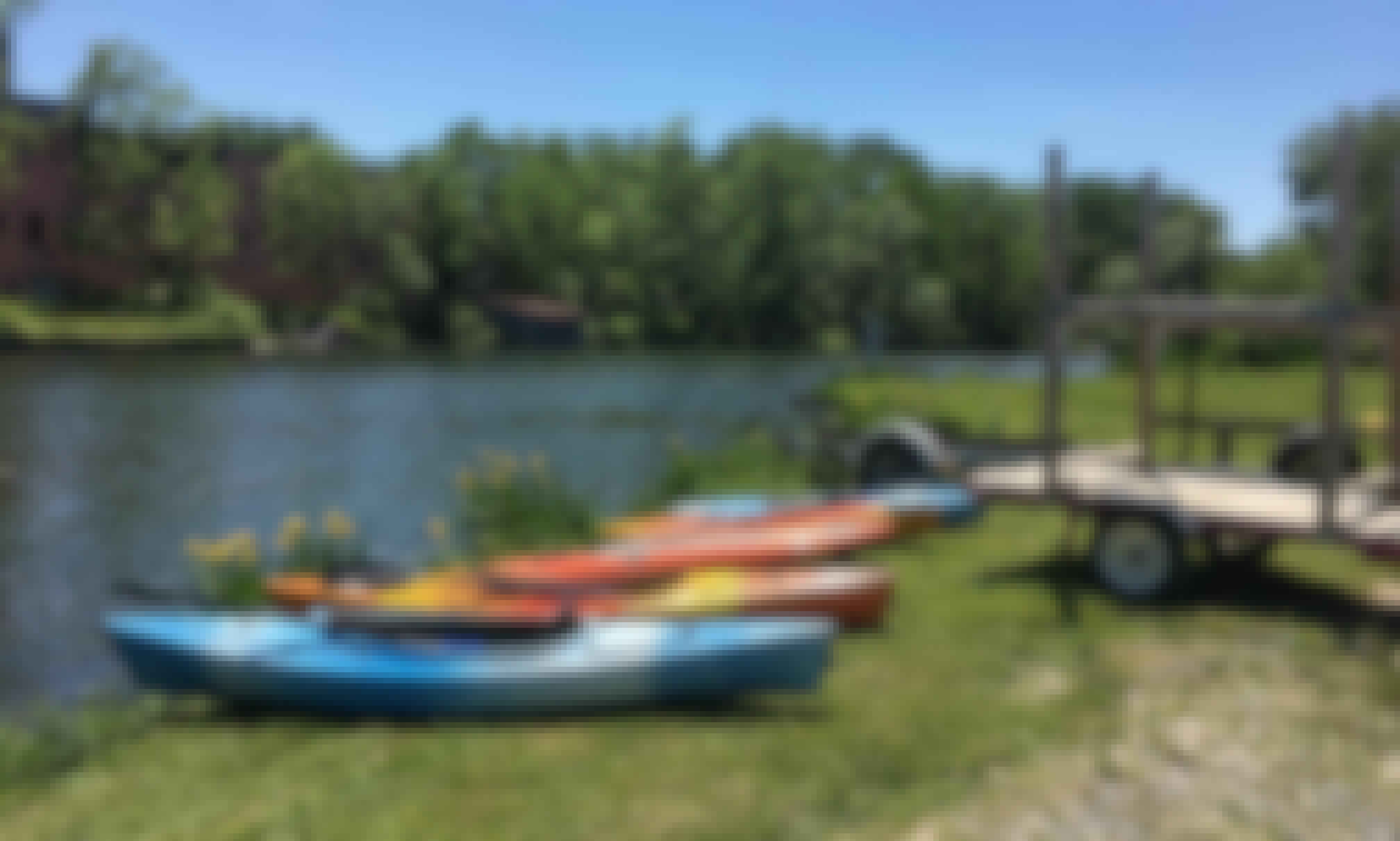 Kayak for Rent in Penn Yan, New York