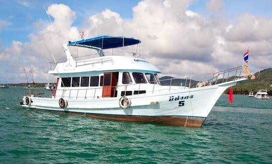 Enjoy Fishing In Phuket, Thailand On Head Boat