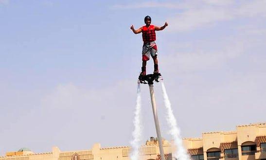 Enjoy Flyboarding In Amman, Jordan