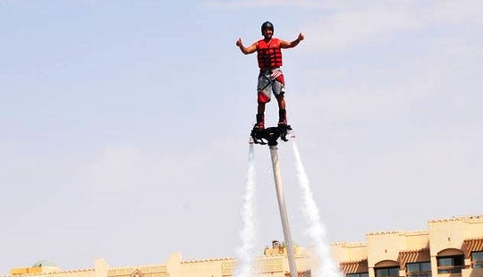 Enjoy Flyboarding In Amman, Jordan