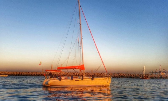 Charter A Cruising Monohull In Ashdod, Israel