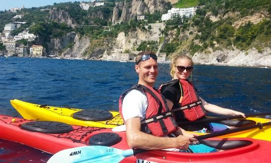 Single Person Kayak Tours On Amalfi Coast (guided Tours)