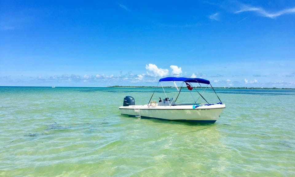 Enjoy Captiva, Florida On Center Console