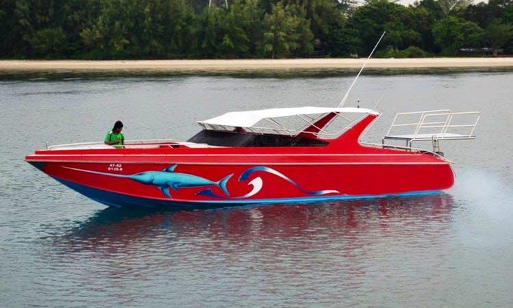 Diving Boat Tour in Tambon Ko Lanta Yai