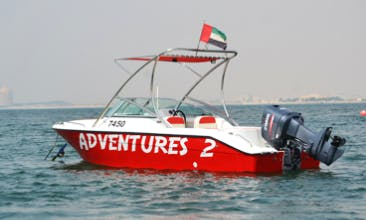 Center Console Adventure for 7 People in Ras Al-Khaimah, United Arab Emirates
