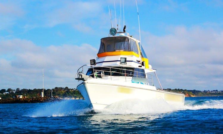 60' Westcoaster Sportfish Charter in Sorrento, Victoria, Australia