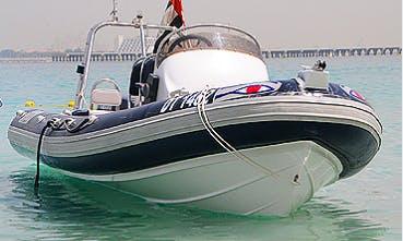 Charter a Rigid Inflatable Boat in Ras Al-Khaimah, United Arab Emirates