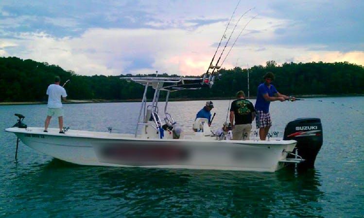 Guided Day Striper Fishing Trip on Lake Lanier