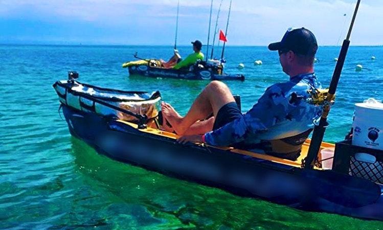 Kayak fishing tours sydney