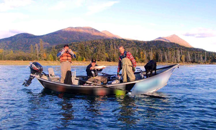 Drift Boat Fishing Trip in Soldotna, Alaska