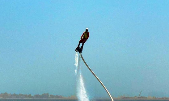 Exciting 20-minutes Flyboarding Ride In Ras Al-khaimah, United Arab Emirates