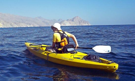Rent A Single Kayak In Ras Al-khaimah, United Arab Emirates