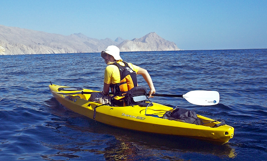 Rent A Single Kayak In Ras Al-khaimah, United Arab Emirates