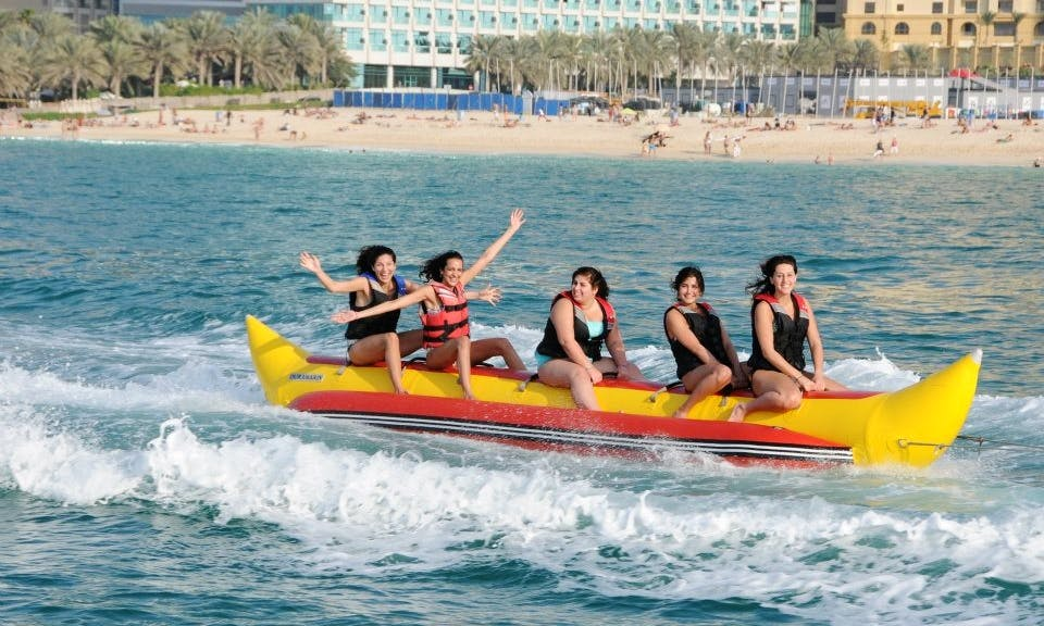 15-Minutes Banana Boat Ride in Ras Al-Khaimah, United Arab Emirates