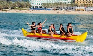 15-Minutes Banana Boat Ride in Ras Al-Khaimah, United Arab Emirates